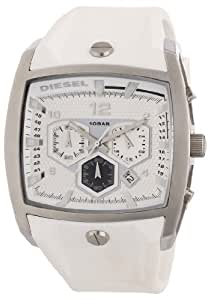 Diesel Chronograph White Resin Strap Mens Watch DZ4163