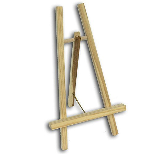 Economy Easel : 12in Display Easel A-Frame Colourful Arts