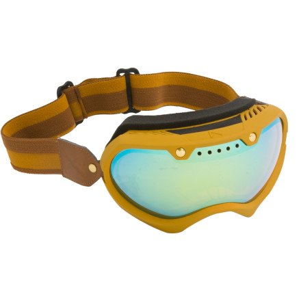 Vinage Paint Mirror Goggle - Scotch/Gold Chrome (Goggle Sale Anon)