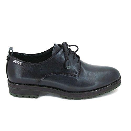 Zapatos W4J Mujeres AZUL Cordones 37 Pikolinos 4624AA 70qfxqU
