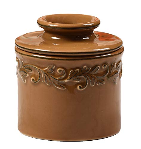 The Original Butter Bell Crock by L. Tremain, Antique Collection - Sienna Brown ()