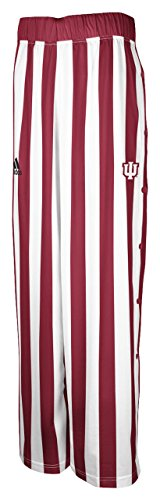 Indiana Hoosiers Adidas Youth Candy Stripe Basketball Warm-Up Pants (S) -