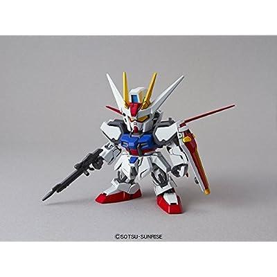 Bandai Hobby SD EX-Standard Aile Strike Gundam Action Figure: Toys & Games
