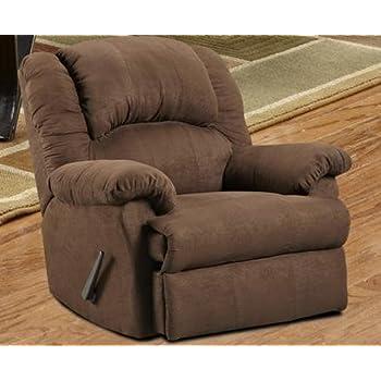 Roundhill Furniture Aruba Microfiber Dual Rocker Recliner Chair Oversize Chocolate  sc 1 st  Amazon.com & Amazon.com: Roundhill Furniture Aruba Microfiber Dual Rocker ... islam-shia.org