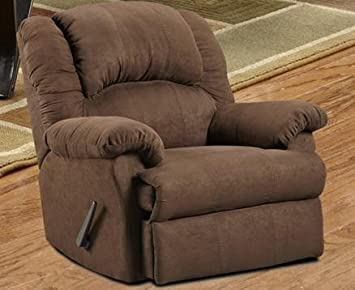 Roundhill Furniture Aruba Microfiber Dual Rocker Recliner Chair Oversize Chocolate & Amazon.com: Roundhill Furniture Aruba Microfiber Dual Rocker ... islam-shia.org