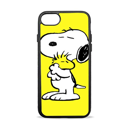 - iPhone 7 Plus/8 Plus Case Silicone Rubber Case Snoopy and Woodstock Protective Phone Case for iPhone 7 Plus/8 Plus 5.5-inch