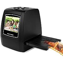 Pyle 22MP Slide Film Scanner, All in 1 Digital Scanner, Film to Digital Converter, Slide Converter, Super Eight Film, Slide Film 35mm, 126 film, Converts 35mm Negative & Slides (PSCNPHO32)