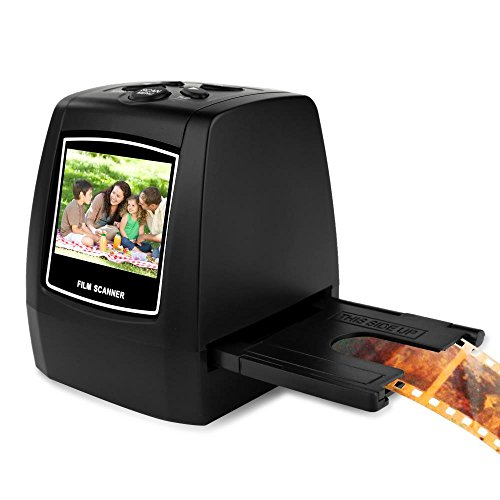 Pyle 22MP Slide Film Scanner, All in 1 Digital Scanner, Film to Digital Converter, Slide Converter, Super Eight Film, Slide Film 35mm, 126 film, Converts 35mm Negative & Slides (PSCNPHO32)