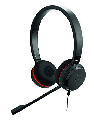 (Jabra Evolve 30 II MS Stereo Wired Headset/Music Headphones)