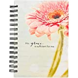 His Grace is Sufficient Hardcover Wirebound Journal