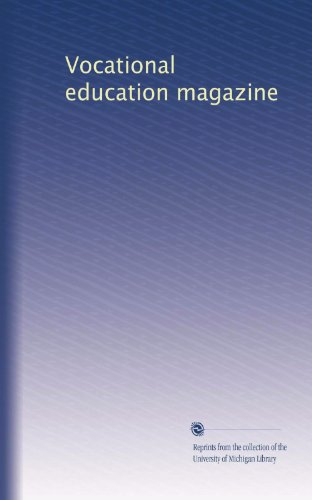 Vocational education magazine (Volume 3)