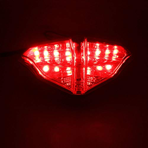 - DMP 2008 2009 2010 2011 2013 Ducati 848 2007 2008 2009 Ducati 1098 1098S 2009 2010 2011 Ducati 1198 Smoked Integrated LED Tail Light