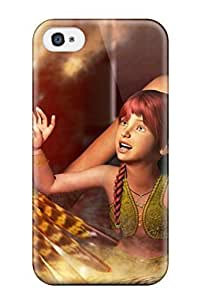 Fashion Case Awesome Fantasy Flip case cover With Fashion Design MjSYMvDO6WM For Iphone 4/4s
