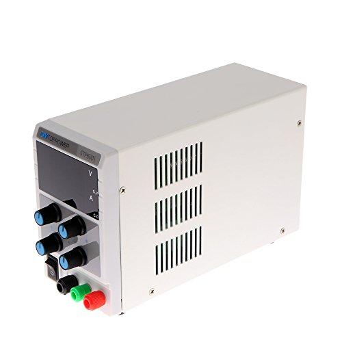 KKmoon Mini Digital Regulated DC Power Supply 60V 5A Adjustable Output Voltage Current STP6005 US Plug by KKmoon
