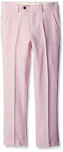 Isaac Mizrahi Textured Linen Pants