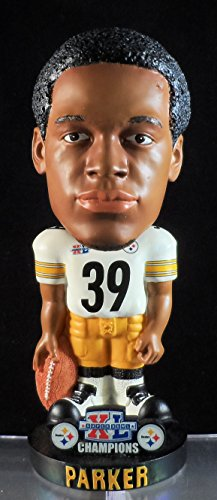 Forever Willie Parker Pittsburgh Steelers Super Bowl XL Champs Bobblehead