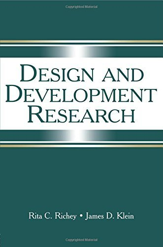Design and Development Research: Methods, Strategies, and Issues by RICHEY, RITA C, Klein, James D. (2007) Paperback