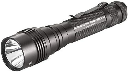 Streamlight 88077 ProTac HPL USB, with USB cord and Box – 1000 Lumens Renewed