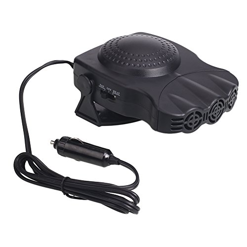 Springdoit Car heater 12v, 150W electric heater, heater, heater, snow defogger, portable rapid heating (black): Kitchen & Home