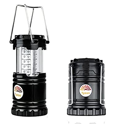 Tyzon Ultra Bright LED Lantern - Water Resistant Portable Lantern - Suitable for All Outdoor Activities - Camping, Emergency Lighting, Fishing, Hiking, Outages, Light Weight