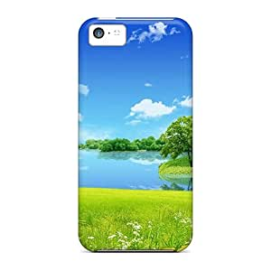 Awesome Case Cover/iphone 5c Defender Case Cover(spring Nature)