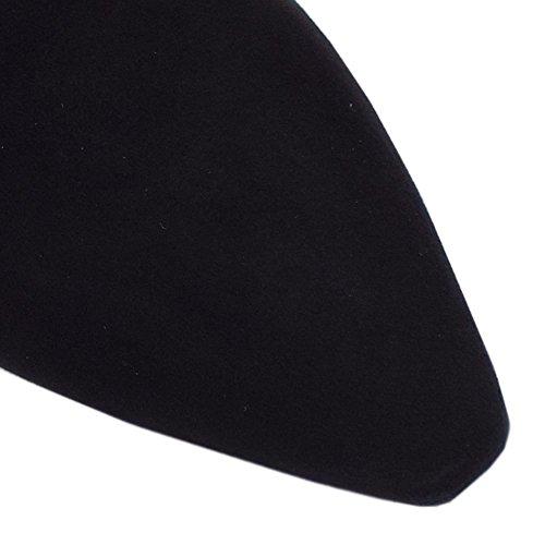 Kaiser Stretch In Marabella Camoscio Peter Tirare Black Su Nero Stivali Ginocchio Freso UwXg8qd