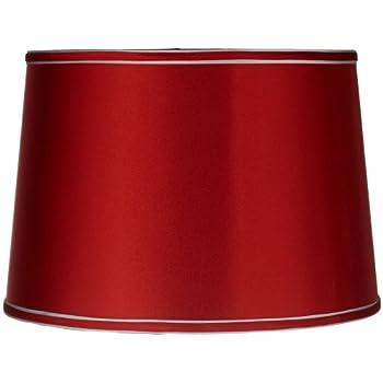 Sydnee satin red drum lamp shade 14x16x11 spider lampshades sydnee satin red drum lamp shade 14x16x11 spider aloadofball Gallery