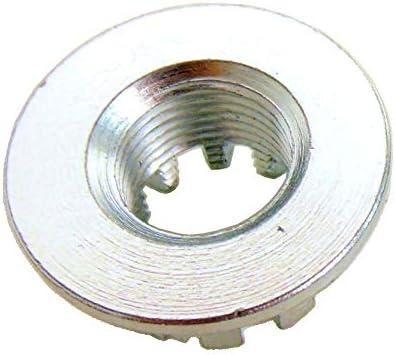 SET OF 2 REAR AXLE CASTLE NUTS /& PINS FITS HONDA TRX350 FOURTRAX 350 4X4 1986-87