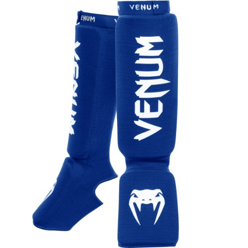"Venum ""Kontact"" Shin and Instep Guards, Blue"