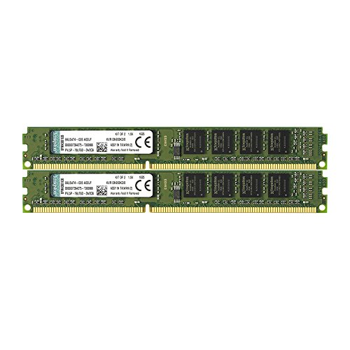 Kingston ValueRAM 8GB Kit (2x4GB) 1333MHz DDR3 Non-ECC CL9 DIMM SR x8 Desktop Memory (8g Kingston Memory)