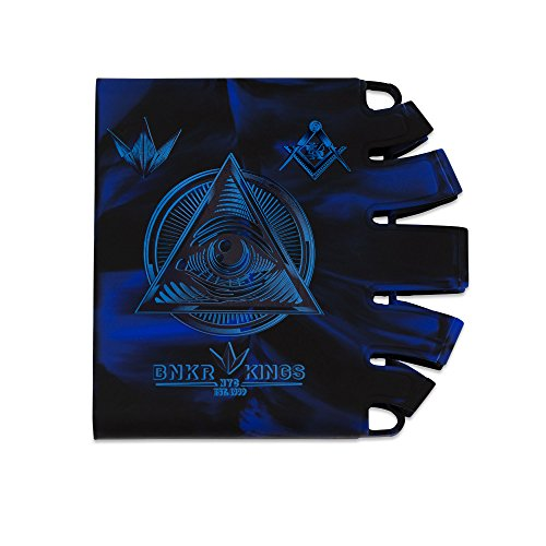 (Bunker Kings Knuckle Butt Tank Covers - Conspiracy Blue)