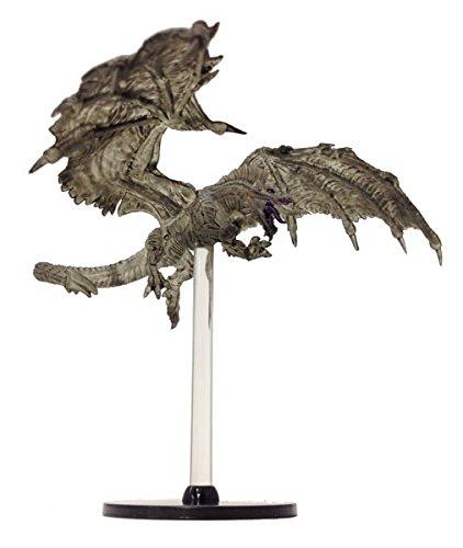 D&D Tyranny of Dragons Single Figure Uncommon Black Shadow Dragon #30