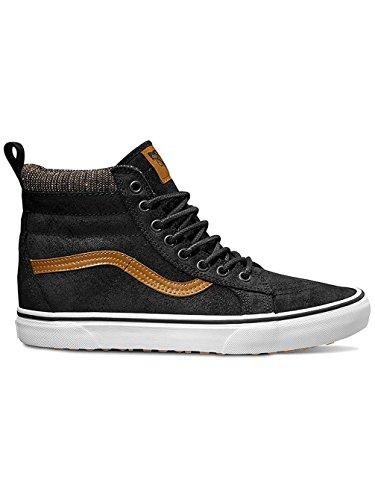 Vans Mens SK8-Hi MTE Black/Tweed Sneaker - 11.5 (Sk8 Hi Sneaker)