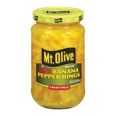 Amazon Com Mt Olive Mild Banana Pepper Rings 12 Oz