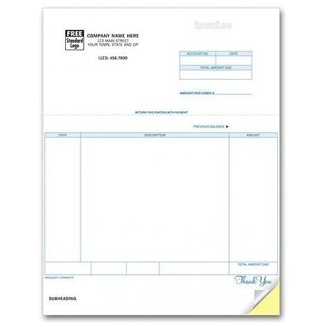 General Laser Invoice