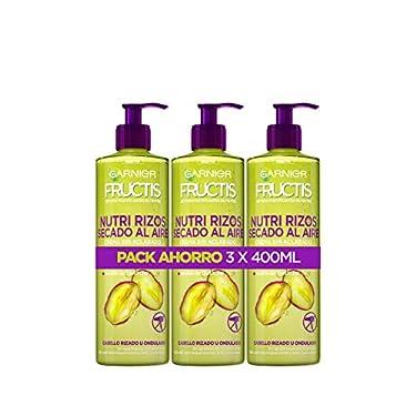 Garnier-Fructis-Crema-Sin-Aclarado-Nutri-Rizos-Secado-al-Aire-para-Pelo-Rizado-u-Ondulado-Con-Pectina-de-Fruta-y-Aceite-de-Pistacho-Nutre-y-Define-tu-Rizos-Sin-Secador-Pack-3x400ml