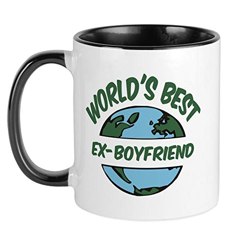 CafePress World's Best Ex Boyfriend Mug Unique Coffee Mug, Coffee Cup
