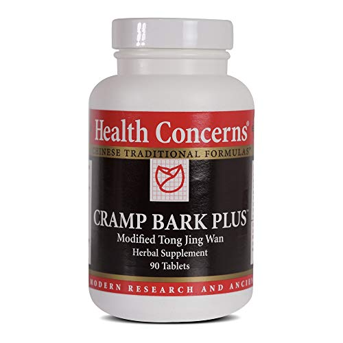 - Health Concerns - Cramp Bark Plus - Modifed Tong Jing Wan Herbal Supplement - 90 Tablets