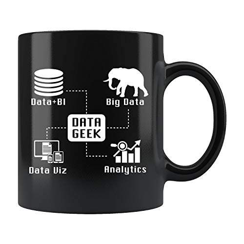 Data Geek Mug, Data Geek Gift, Big Data Gift, Big Data Mug, Data Coffee Mug, Data Analyst Gift, Analytics Mug, Database Mug GIFY452