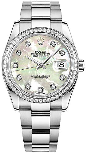 Women's Rolex Datejust 36 Diamond Luxury Watch (Reference: 116244)