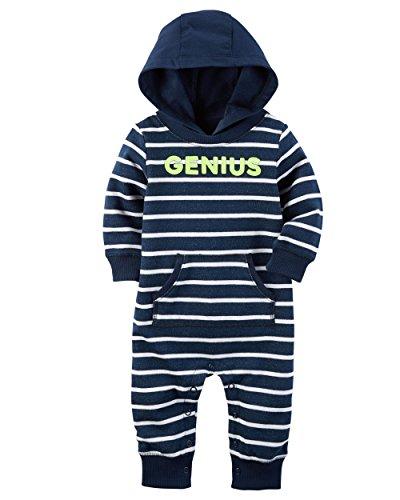 Genius Jumpsuit 9 Months (Carters Snap Front Jumpsuit)