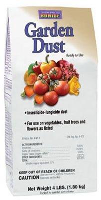 Bonide Chemical Number-4 Garden Dust, 4 lb bag