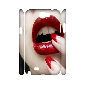 C-U-N5105790 3D Art Print Design Phone Back Case Customized Hard Shell Protection Samsung Galaxy Note 2 N7100