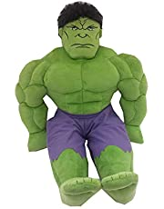 Mon Tex Mills Marvel Avengers The Hulk Character Pillow, Green, Standard