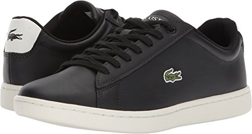 Lacoste Womens Hydez Black/Off-White 6.5 M