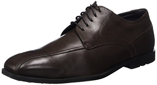 Rockport Herren Global Road Bike Toe Derby Braun (DARK BITTER CHOCOLATE)