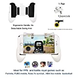 Mobile Game Controller[Upgrade Version],Xinyun Sensitive Shoot and Aim Keys L1R1 and Gamepad for PUBG/Fortnite/Rules of Survival, Mobile Gaming Joysticks for Android iOS(1Pair+1Gamepad+1joystic)