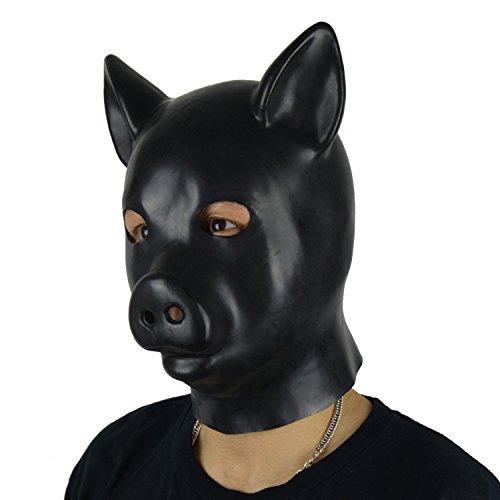 rubber hood mask - 5