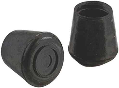 Shepherd Hardware 9129 Rubber Leg Tips Black