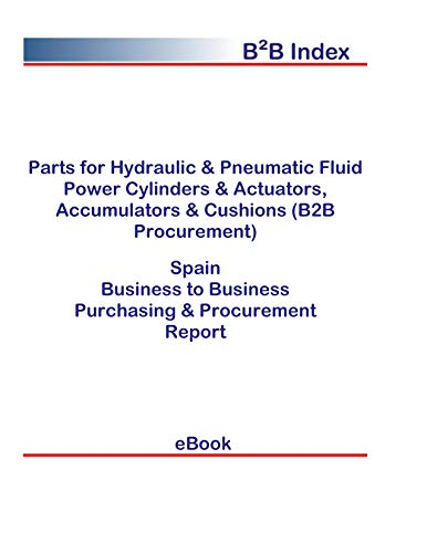 Parts for Hydraulic & Pneumatic Fluid Power Cylinders & Actuators, Accumulators & Cushions (B2B Procurement) in Spain: B2B Purchasing + Procurement Values
